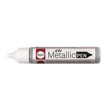 Metallic Effekt-Pen, Flasche 28ml, silber