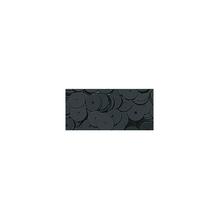 Pailletten, glatt, 6mm ø, SB-Btl 1000Stück, schwarz