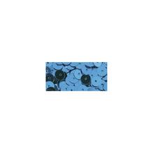 Pailletten, glatt, 6mm ø, SB-Btl 1000Stück, m.blau