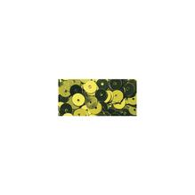 Pailletten, glatt, 6mm ø, SB-Btl 1000Stück, oliv