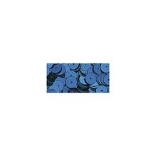 Pailletten, glatt, 6mm ø, SB-Btl 1000Stück, d.blau