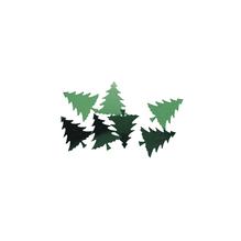 Baum-Pailletten, 20 mm, SB-Btl. 250 Stück, grün