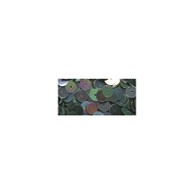 Pailletten, gewölbt, 6mm ø, SB-Box 4000Stück, irisierend schwarz