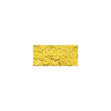 Pailletten, gewölbt, 6mm ø, SB-Box 4000Stück, irisierend gelb