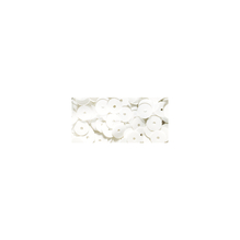 Pailletten, 6 mm, glatt, Dose 6g, waschbar, weiß
