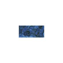 Pailletten, 6 mm, glatt, Dose 6g, waschbar, d.blau