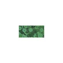 Pailletten, 6 mm, gewölbt, Dose 6g, waschbar, blaugrün