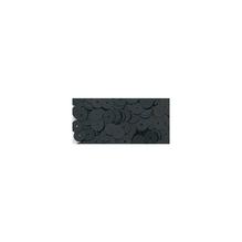 Pailletten, gewölbt, 6mm ø, Dose 6g, schwarz