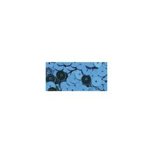 Pailletten, gewölbt, 6mm ø, Dose 6g, m.blau