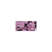Pailletten, glatt , 6mm ø, Dose 7g, pink