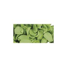 Papier-Blütenblätter, 2,5cm ø, SB-Btl 10g, h.grün
