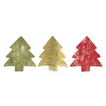 Vlies-Baum, 4,5 cm, SB-Btl. 144 Stück, 3 Farben