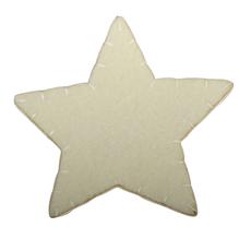 Filz Sterne, 10cm, SB-Btl 3Stück, vanille