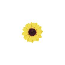 Sonnenblumenköpfe, 3,5 cm, SB-Btl. 12 Stück