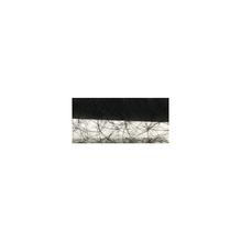 Faserseide: Modern, 30cm, Rolle 5m, schwarz