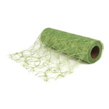 Faserseide: Modern, 30cm, Rolle 25m, h.grün