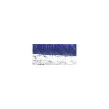 Faserseide: Modern, 60cm, Rolle 25m, m.blau