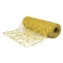 Faserseide: Modern, 60cm, Rolle 25m, gelb