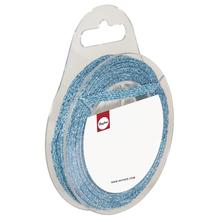 Glitterband, 5mm, SB-Rolle 10m, hellblau