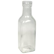 Glas Flasche, 5x5x16cm