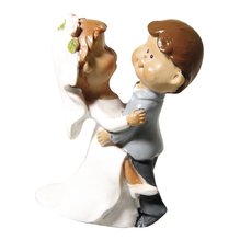 Polyresin Brautpaar Lovely Wedding, 5,5x4cm