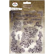 Clear Stamp Swirls, 2-9cm, SB-Btl 13Stück