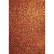 A4 Bastelkarton: Glitter, 210x297mm, 200 g/m2, orange