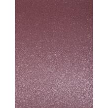 A4 Bastelkarton: Glitter, 210x297mm, 200 g/m2, muschelrosa