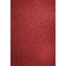 A4 Bastelkarton: Glitter, 210x297mm, 200 g/m2, kardinalrot