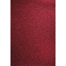A4 Bastelkarton: Glitter, 210x297mm, 200 g/m2, bordeaux