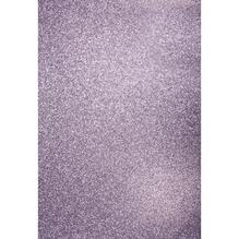 A4 Bastelkarton: Glitter, 210x297mm, 200 g/m2, lavendel