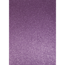 A4 Bastelkarton: Glitter, 210x297mm, 200 g/m2, zartlila