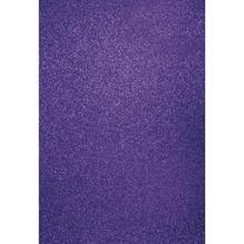A4 Bastelkarton: Glitter, 210x297mm, 200 g/m2, pflaume
