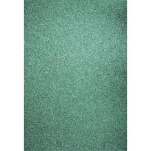 A4 Bastelkarton: Glitter, 210x297mm, 200 g/m2, türkis