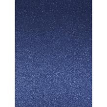 A4 Bastelkarton: Glitter, 210x297mm, 200 g/m2, royalblau