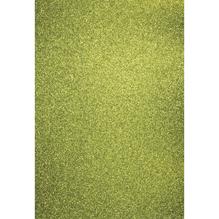 A4 Bastelkarton: Glitter, 210x297mm, 200 g/m2, maigrün