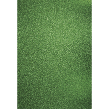 A4 Bastelkarton: Glitter, 210x297mm, 200 g/m2, immergrün