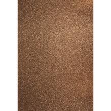 A4 Bastelkarton: Glitter, 210x297mm, 200 g/m2, nougat