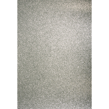 A4 Bastelkarton: Glitter, 210x297mm, 200 g/m2, silber