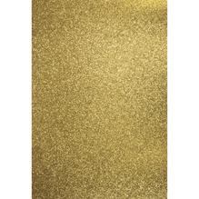 A4 Bastelkarton: Glitter, 210x297mm, 200 g/m2, gold