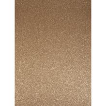 A4 Bastelkarton: Glitter, 210x297mm, 200 g/m2, brill.bronze