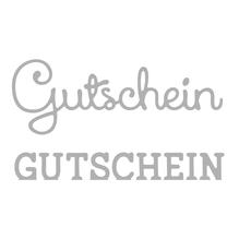 Stanzschabl. Set: Gutschein, SB-Btl 2Stück, 2,5-7cm