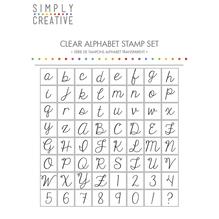 Alphabet Stamp- Script, SB-Btl