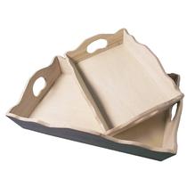 Holz-Tablett, 20x30 cm - wurde ersetzt durch: 62411000