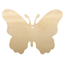 Holz Schmetterling FSC 100%, 8x10,5x0,2cm, SB-Btl 3Stück