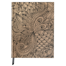 Tangle Notizbuch Jungle,FSC Mix Credit, 15,9x20,9cm, 80 Blatt, 110g/m², kraft