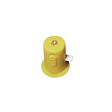 Plastik LED Lämpchen, 2,5cm ø, inkl. 2 Knopfzellen LR44, SB-Btl 2Stück