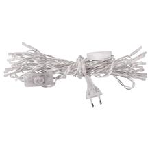 LED-Lichtergirlande, Innenbereich, 5,25m, 10 Lichter, mit Schalter, kristall