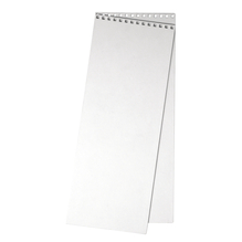 Papp-Deckel für Kalender , 11,9x30,5 cm, 2 Stück im Beutel, weiß