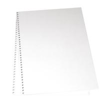 Papp-Deckel für Album, 22x30,5 cm, 2 Stück im Beutel, weiß